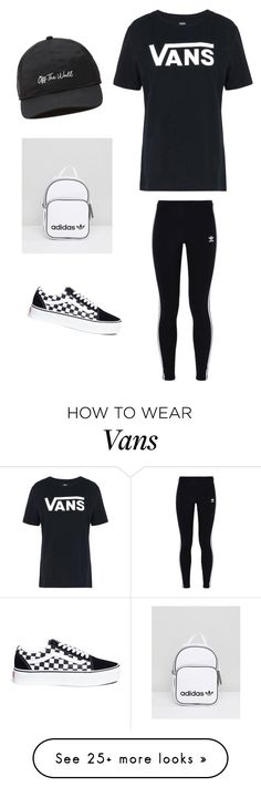 """""""Untitled #222"""" by chinesequeen15 on Polyvore featuring Vans and adidas Originals"""