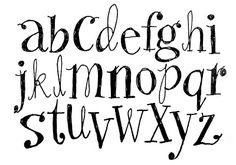 Sketchy Doodley alphabet  || by Alanna Cavanagh