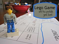 Adrienne Barnes have u seen this??? Xo   YEAH! Super fun Lego Game using my sons Lego collection. Just in time for summer!