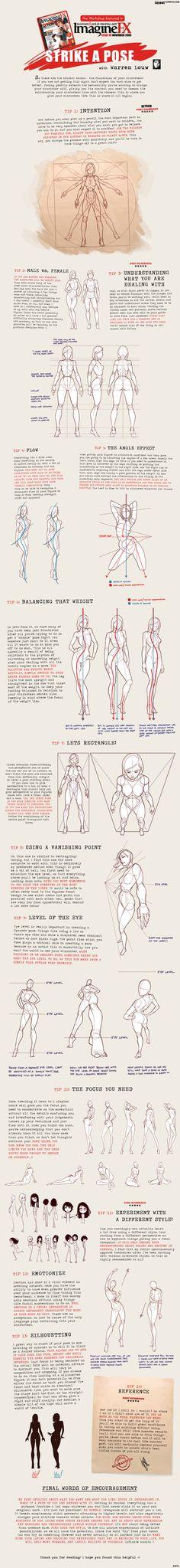 Comic Art Reference - Strike a Pose