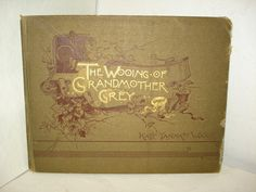 Children's Book The Wooing of Grandmother by PastPossessionsOnly, $24.95
