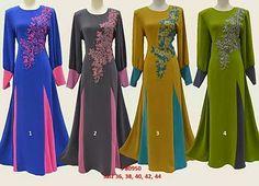 Butik Liza Kurung Moden: ♥ JUBAH FURSAN SAKURA ~ SAIZ 36 - 44 ♥