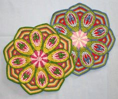 Crochet Overlay Mandala No. 2 Pattern PDF por CAROcreated