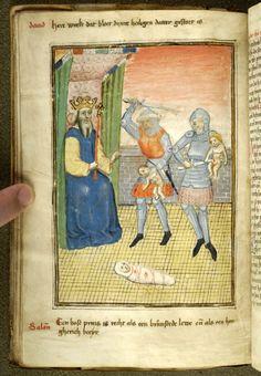 Innocents: Massacre | Spiegel van den leven ons Heren and other works | Netherlands, Brabant | ca. 1455 | The Morgan Library & Museum