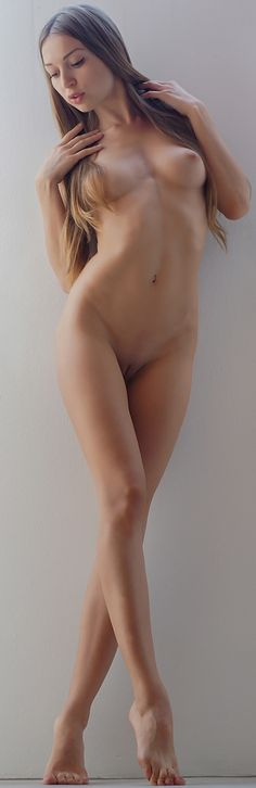 Woman brushing teeth naked gif