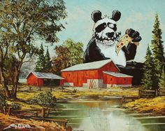 Panda Pizza Party ... what-else needs to be stated?