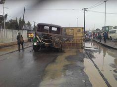 Oshodi tanker accident- two feared dead
