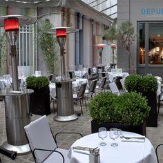 Depur, bar & restaurant with inside terrace, Paris Montorgueil - www.droledendroit.com