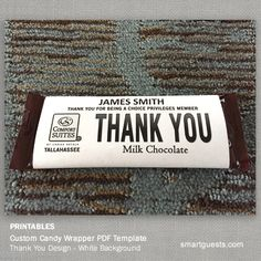 1000 images about cool hotel ideas marketing on for Personalized chocolate wrappers template