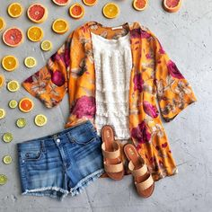 Love the kimono look (just not these colors)