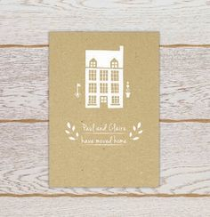 Change of Address Cards by ItsFateEvents on Etsy, £6.50