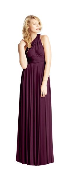 Twobirds Bridesmaid | Classic - A great simple dresd that each girl can creat their own style with!