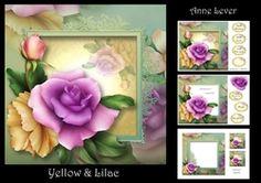 Yellow & Lilac