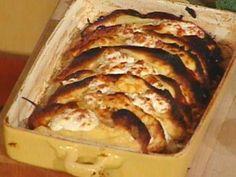 Crepes with Ricotta: Crespelle al Formaggio Recipe : Mario Batali : Food Network