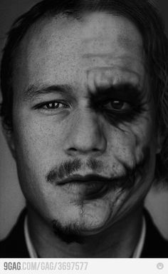 Heath ledger, and his awesome acting as the Joker. RIP to one of the greatest
