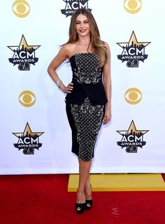 Sofia Vergara - Every Look from the 2015 Academy of Country Music Awards - Photos
