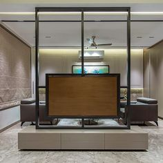 SANGINI SOLITAIRE 402 on Behance Living Room Partition Design, Living Room Tv Unit Designs, Room Partition Designs, Bedroom False Ceiling Design, Small Apartment Interior, Apartment Design, Tv Unit Interior Design, Home Room Design, House Rooms