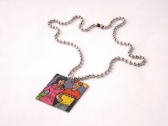Vintage Archie Comic 'Lovers in Twine' Pendant by LilRedsBoutique, €6.00