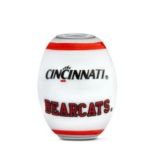 Cincinnati Collegiate Milk Glass Cornerstone Bead