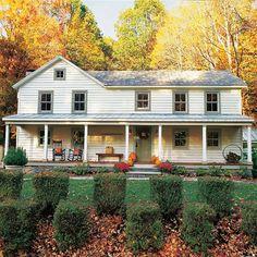 """farmhousetouches: """" (via FARMHOUSE – This Old House   Farmhouse Homes   Pinterest) """""""