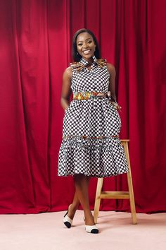 Afraid Of Prints? Erilyn's Spring/Summer 2018 Collection Will Change Your Mind African Dresses For Kids, Latest African Fashion Dresses, African Dresses For Women, African Print Fashion, African Attire, Ankara Fashion, Cute Maternity Dresses, African Fashion Traditional, Ankara Dress Styles