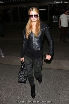 Paris Hilton arrives at LAX airport from her recording with River Viper Records for upcoming Youtube channel See More Pic. http://www.icelebz.com/events/paris_hilton_arrives_at_lax_airport_from_her_recording_with_river_viper_records_for_upcoming_youtube_channel/