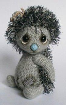 17. Ёжик из серии Little Teddy Diy Crochet Patterns, Crochet Doll Pattern, Afghan Crochet Patterns, Amigurumi Patterns, Knitted Dolls, Crochet Dolls, Stuffed Animal Patterns, Amigurumi Doll, Crochet Animals