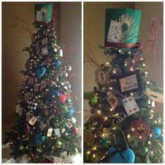 Craft Room Secrets: Welcome to Wonderland- Alice in Wonderland Christmas Tree