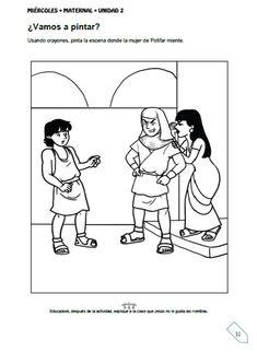 Al llegar a Egipto los mercaderes vendieron a José al ministro del faraón y jefe de la guardia que se llamaba Potifar.  José entró al servic...