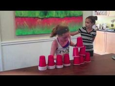 Stack Attack Minute To Win It Tween Challenge Morning Meeting Activities, School Age Activities, Activities For Kids, Crafts For Kids, Couples Game Night, Family Game Night, Fun Games, Party Games, Youth Group Games