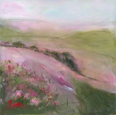Summer Heather by Sue Fenlon  Signed limited edition mounted print.  Also available as a stretched canvas