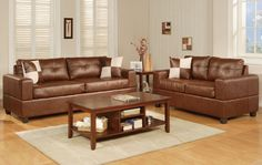 Getting the right brown leather couch in your living room is important. The good news is that most of brown leather couch product Sectional Sofa, Couch, Room Interior, Cool Furniture, Love Seat, Brown Leather, Sweet Home, Classy, Living Room