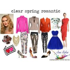 clear spring romantic