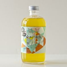 grapefruit mint liquid soap by MEOW MEOW TWEET.