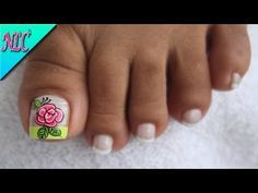 Pedicure, Nails, Veronica, Easy, Youtube, Angel, Toenails, Polish Nails, Pretty Toe Nails