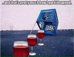 ...and that's how I got kidnapped.