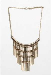 My Metal Fringe Necklace
