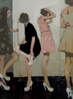 Love this painting by Michael Carson.