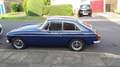 MGB GT dark blue. For Sale (1972)