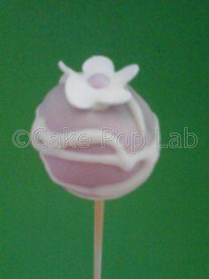 Mais um clássico de Cake Pop Lab, cake pops swirl com flor!