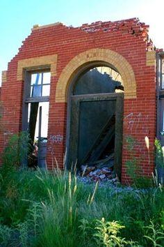 Toyah Texas ruins
