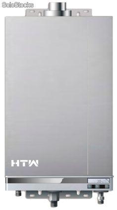 Calentador htw elite gn estanco + kit salida gases