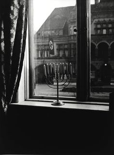 "☞ Credit: Shulamith Posner-Mansbach/ United States Holocaust Memorial Museum. Caption: ""The show at the Museaum [sic] of Jewish Heritage includes this 1932 photo taken in Kiel, Germany."" In Edward Rothstein, ""Resisting the Nazis Despite the Odds,"" The New York Times, 16 Apr. 2007, http://www.nytimes.com/2007/04/16/arts/16resi.html"