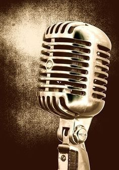 microphone vintage on pinterest vintage microphone singers and retro. Black Bedroom Furniture Sets. Home Design Ideas