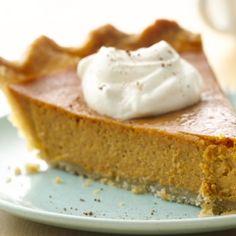 A classic pumpkin pie that everyone can enjoy!