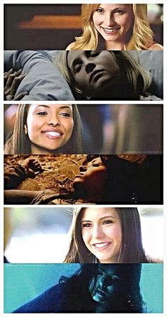 That awkward moment when every single character on TVD has died at least once...