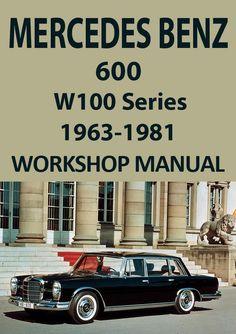 mercedes benz w110 series 190c and 190 d 1961 1965 workshop manual rh pinterest com Mercedes-Benz W123 Mercedes-Benz W126