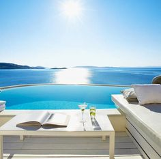 Take me there. Cavo Tagoo - Mykonos, Greece
