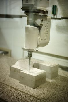 5-axis CNC machining on RenShape - industrial mould