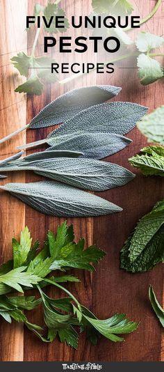 5 pesto recipes that go beyond basil.